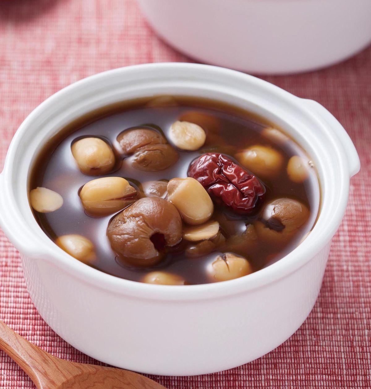 食譜:杏仁紅棗桂圓湯