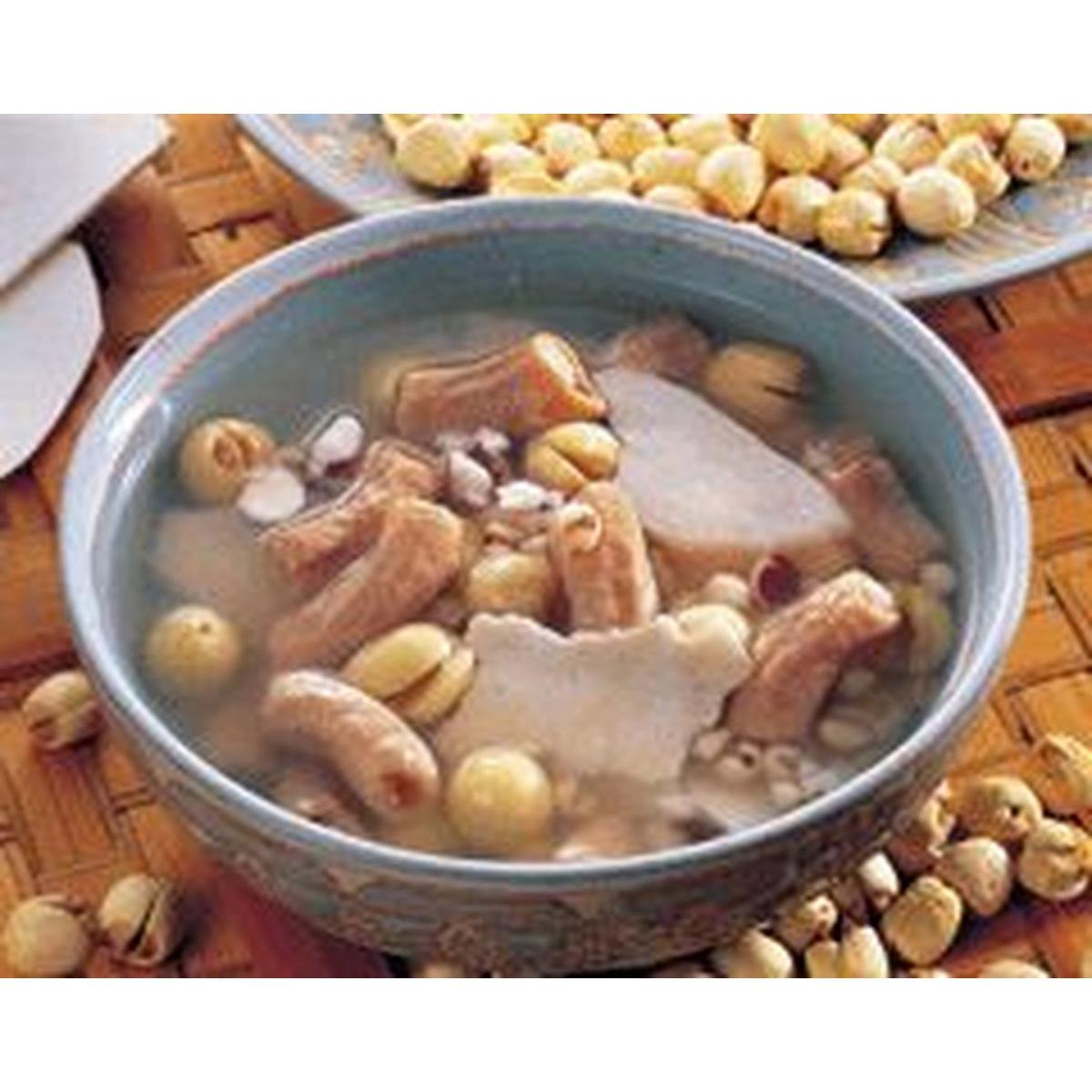 食譜:四神豬腸湯