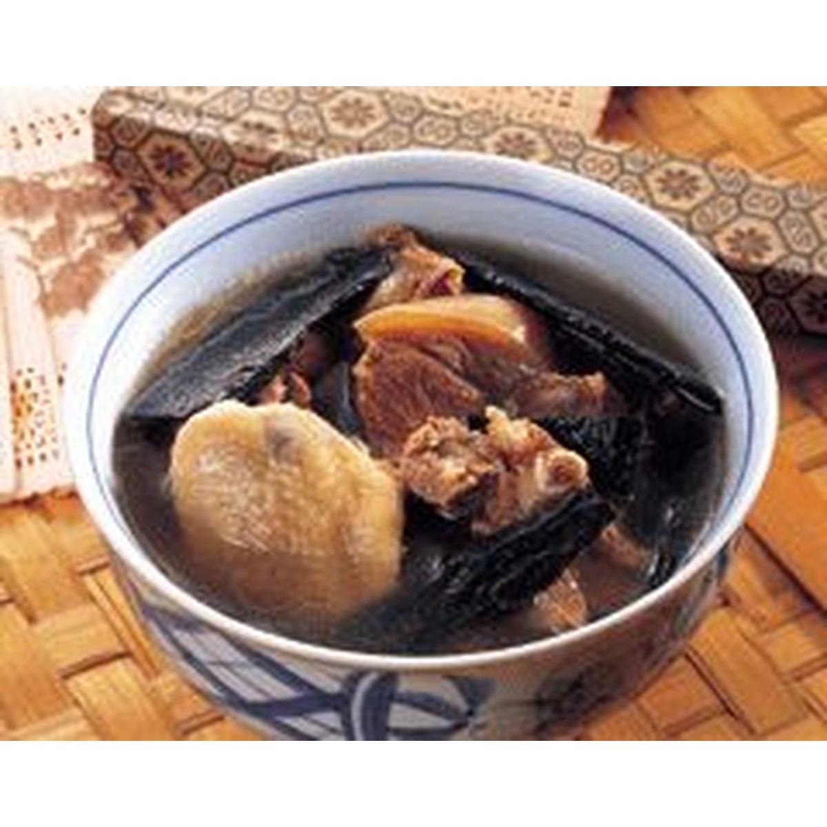 食譜:杜仲燉什錦排骨