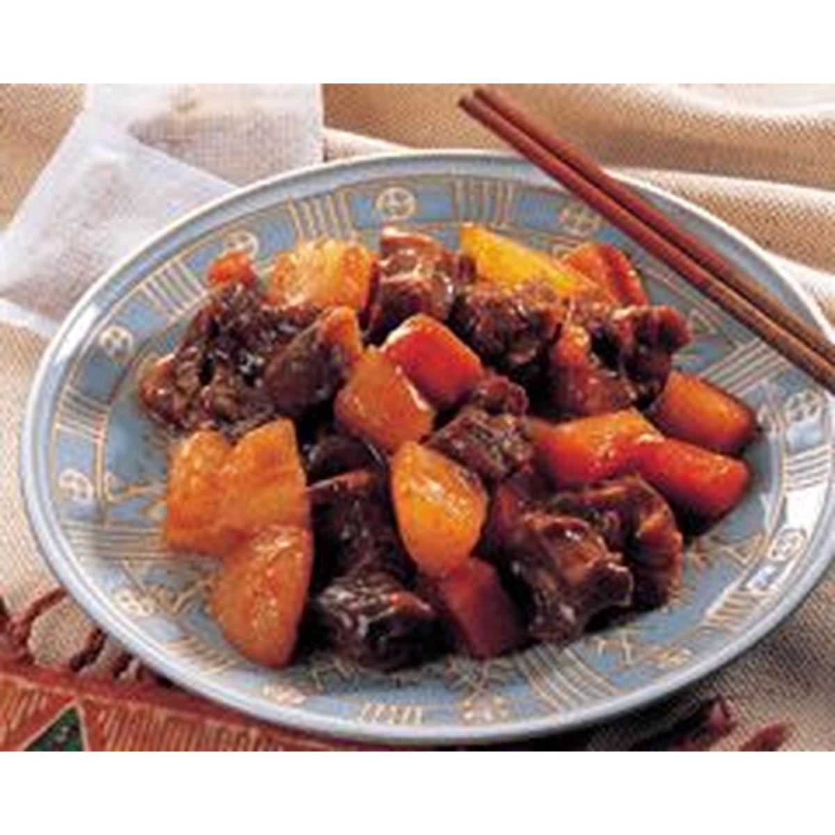食譜:紅燒牛肉