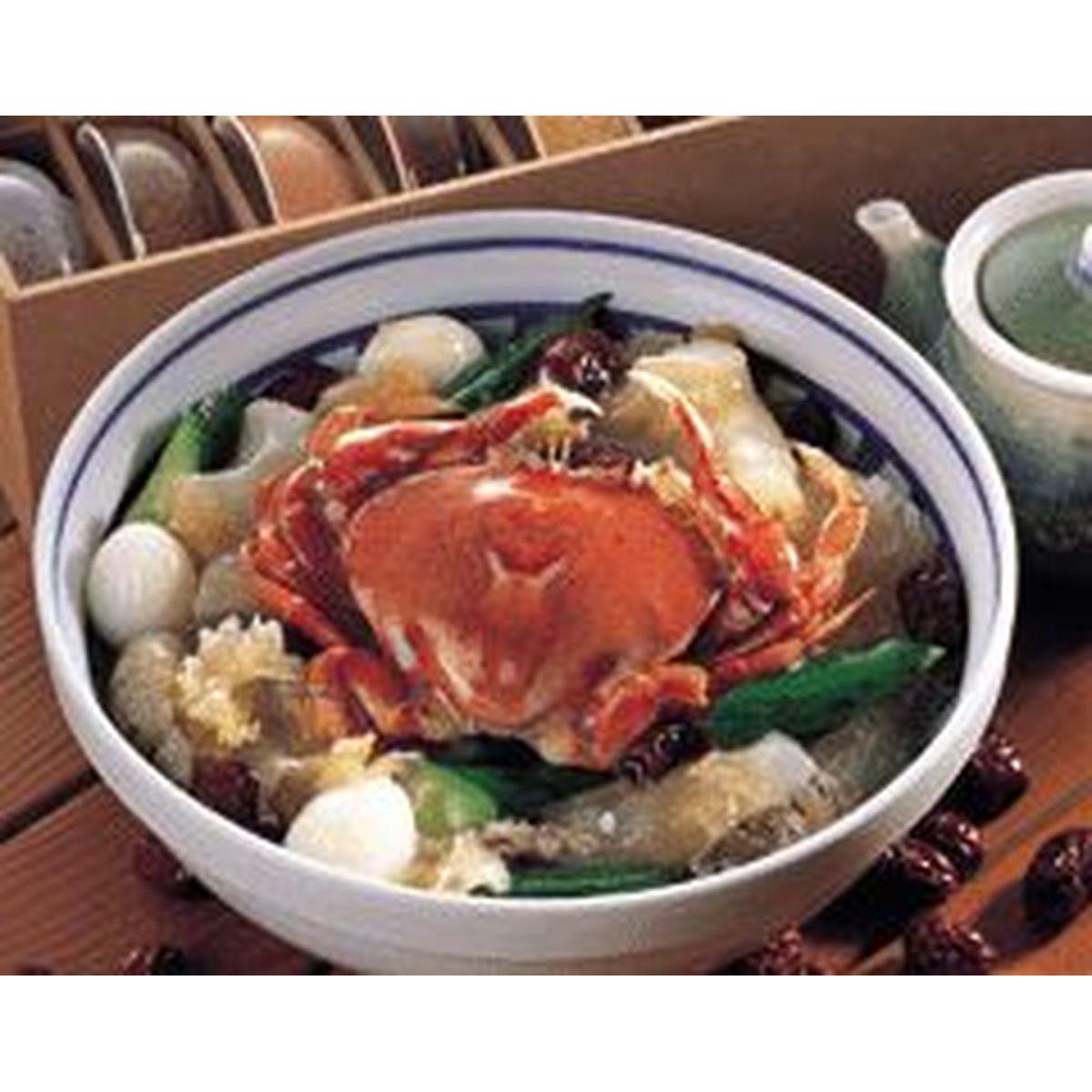 食譜:木耳紅棗燴冬粉蟹