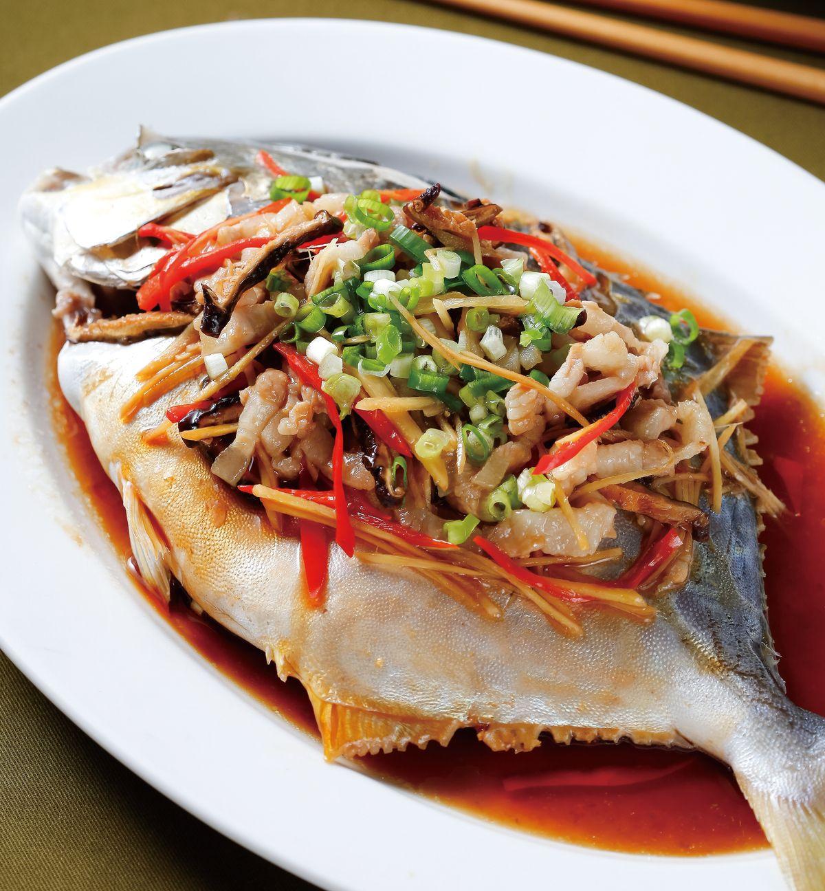食譜:台式蒸魚(1)