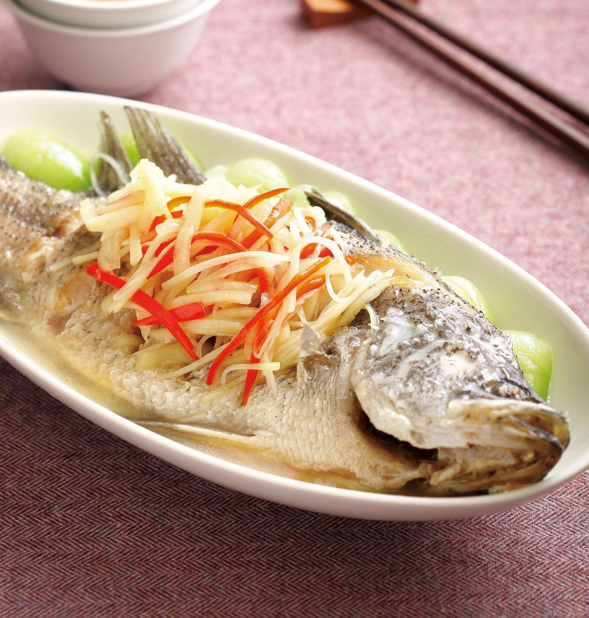 食譜:蘋果子薑魚