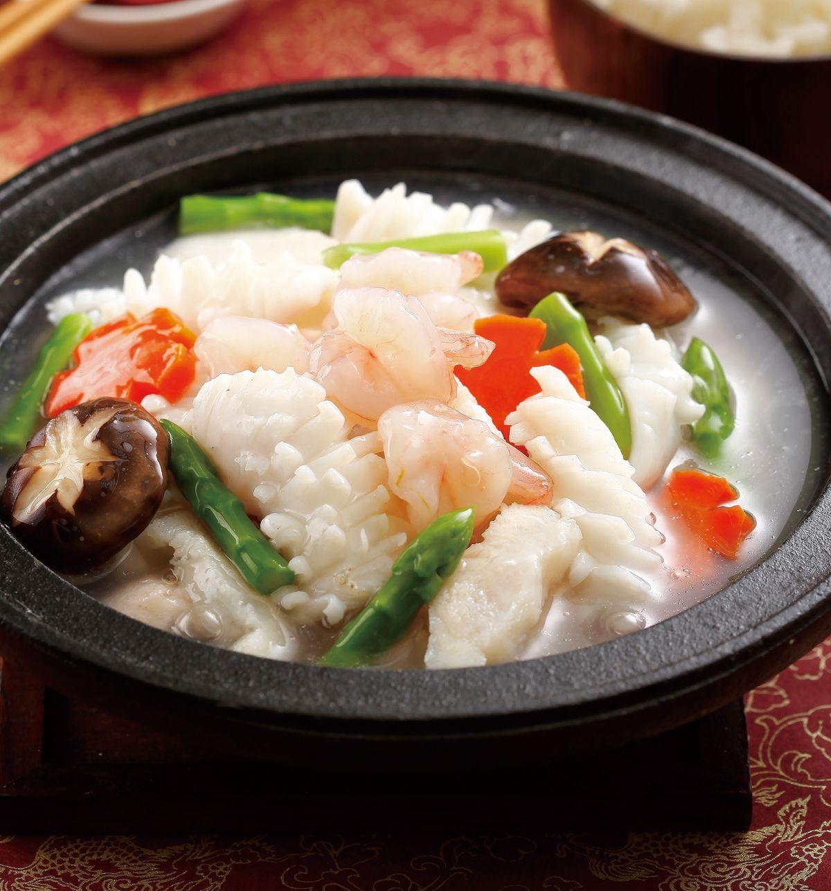 食譜:鮮蔬海鮮煲