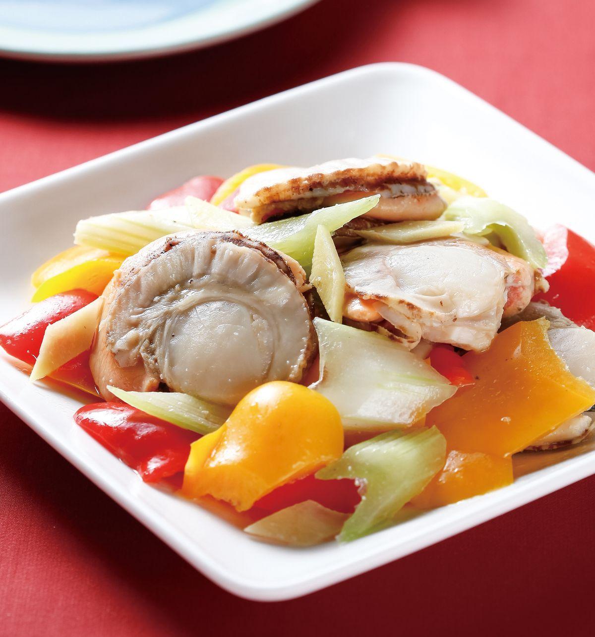 食譜:鮮炒扇貝