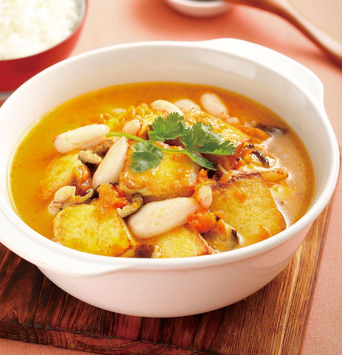 食譜:蟹肉豆腐煲(1)