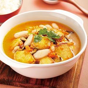 蟹肉豆腐煲(1)