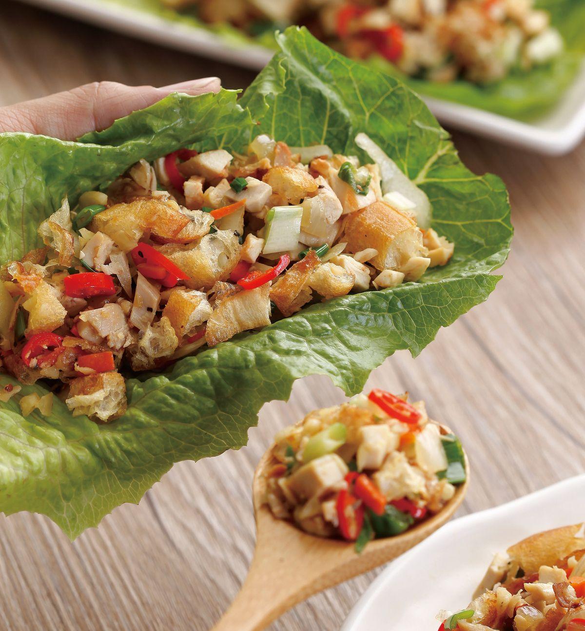 食譜:烤雞蔬菜鬆