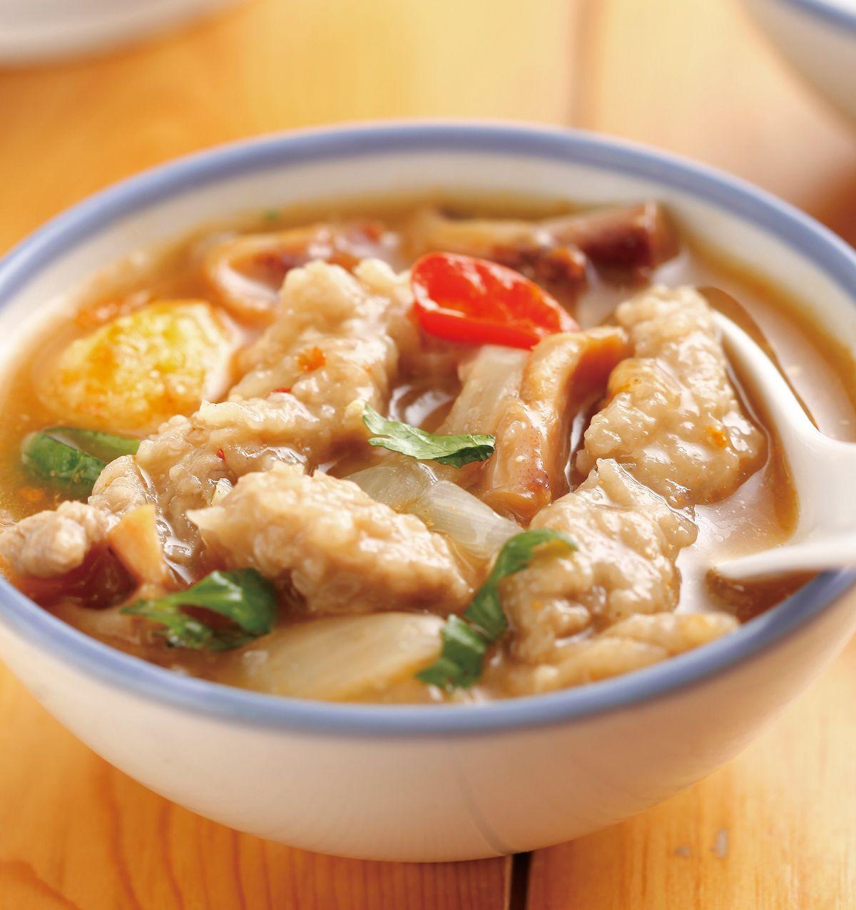 食譜:肉羹燴三鮮