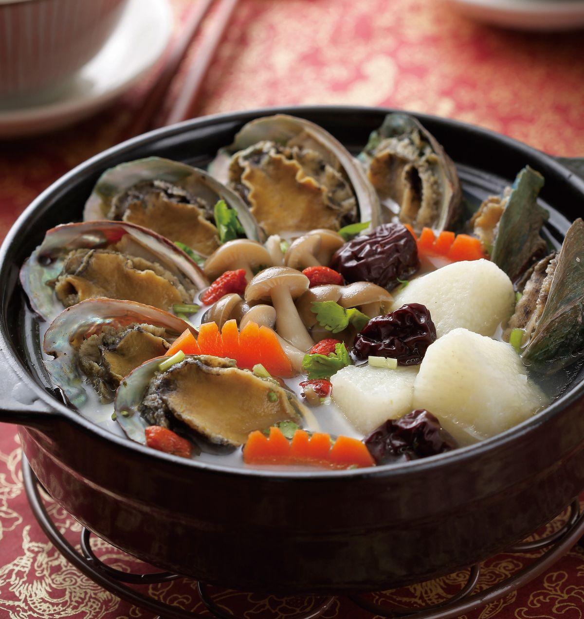 食譜:鮑魚枸杞湯