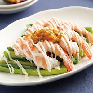 百香果沙拉蝦