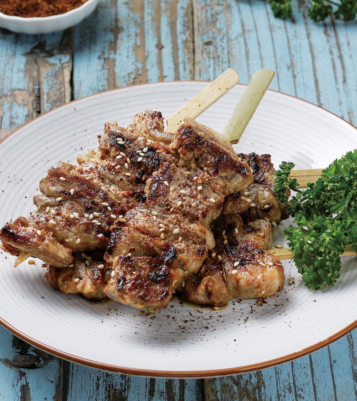 食譜:孜然羊肉串