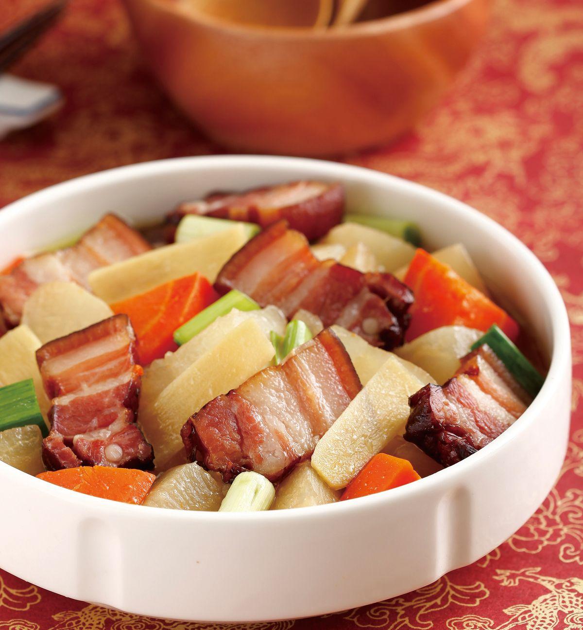食譜:臘肉燉蘿蔔