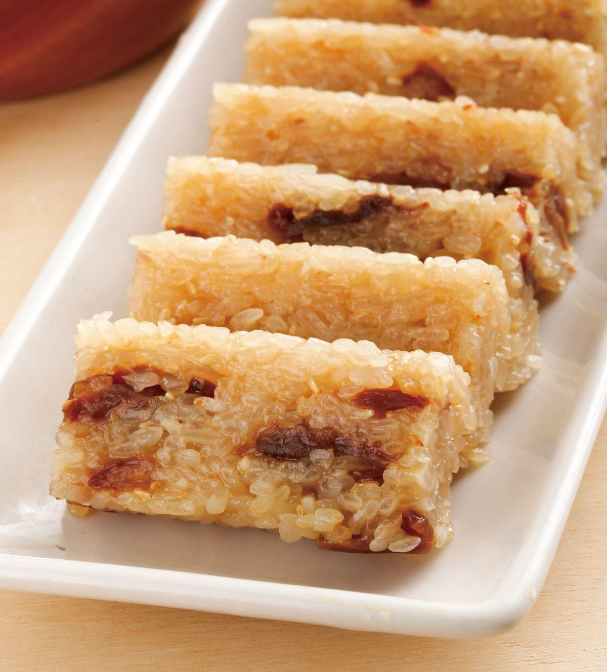 食譜:桂圓米糕(1)
