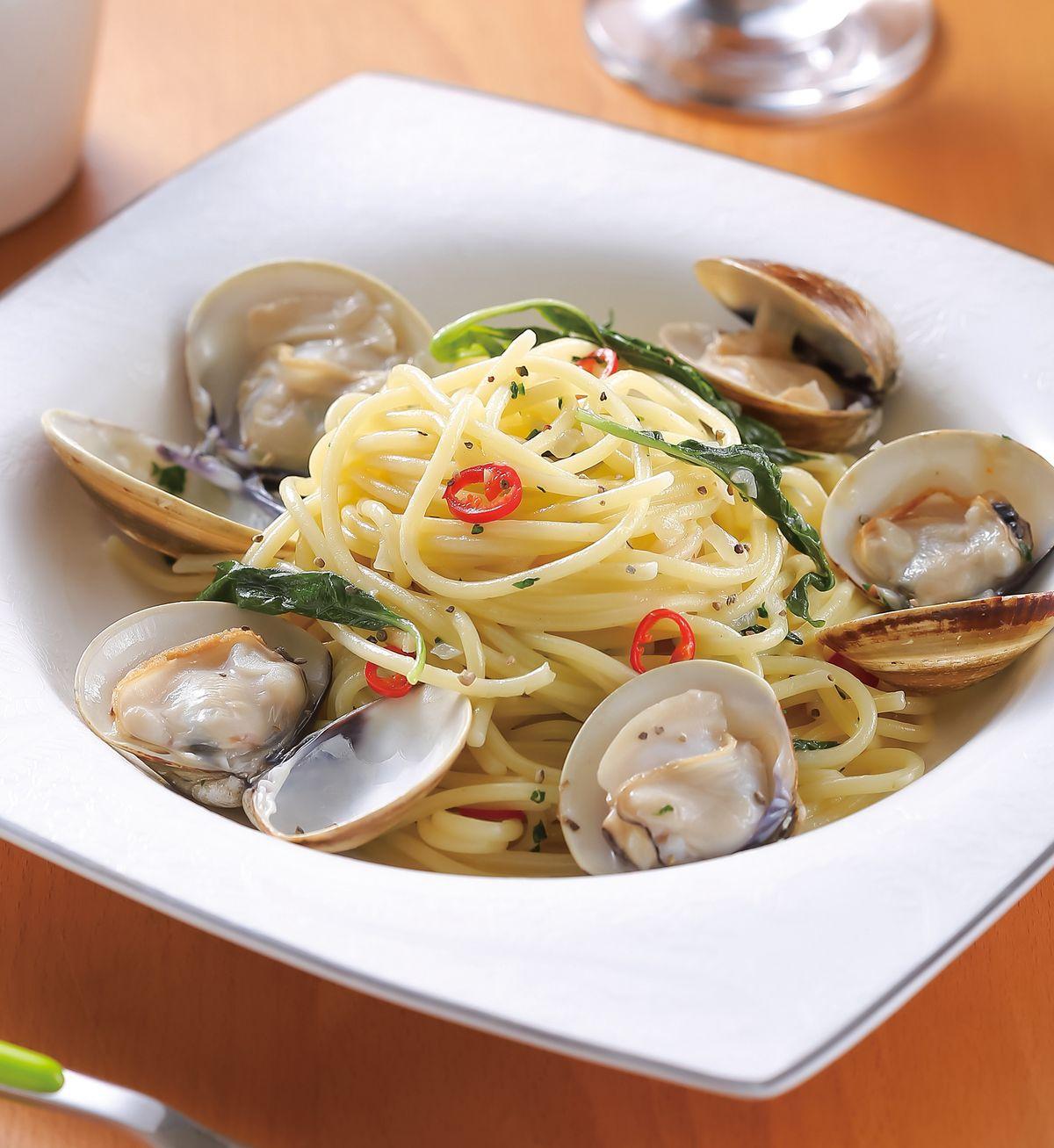 食譜:白酒蛤蜊義大利麵