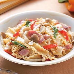 野菇培根義大利麵