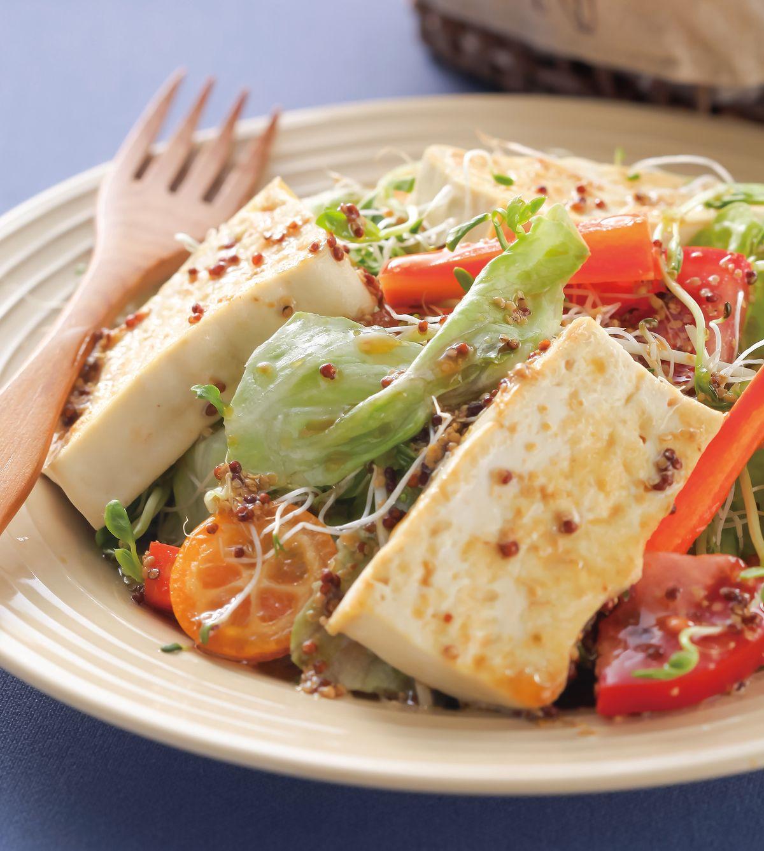 食譜:油醋豆腐沙拉