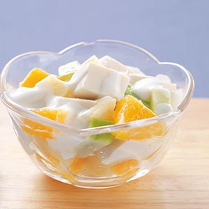 水果優格豆腐