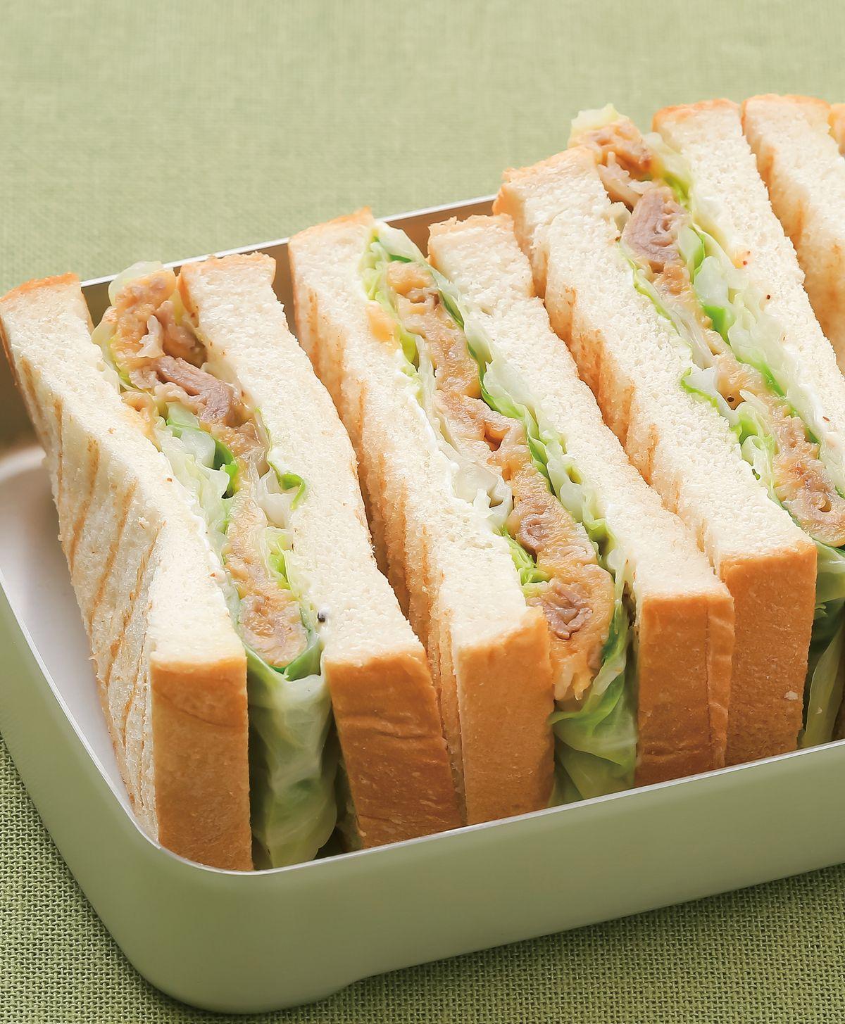 食譜:高麗菜乳酪卷三明治