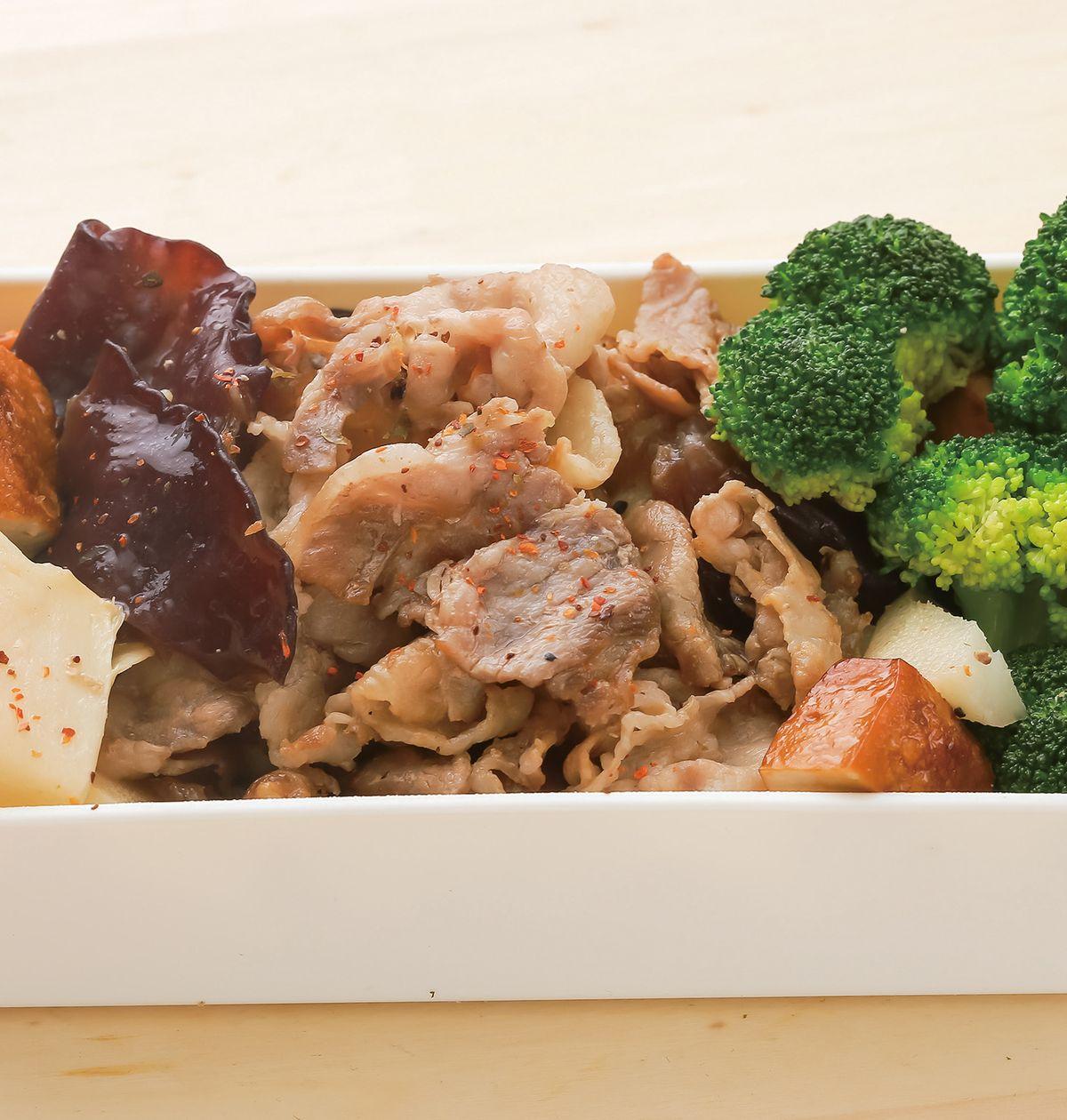 食譜:時蔬炒肉片