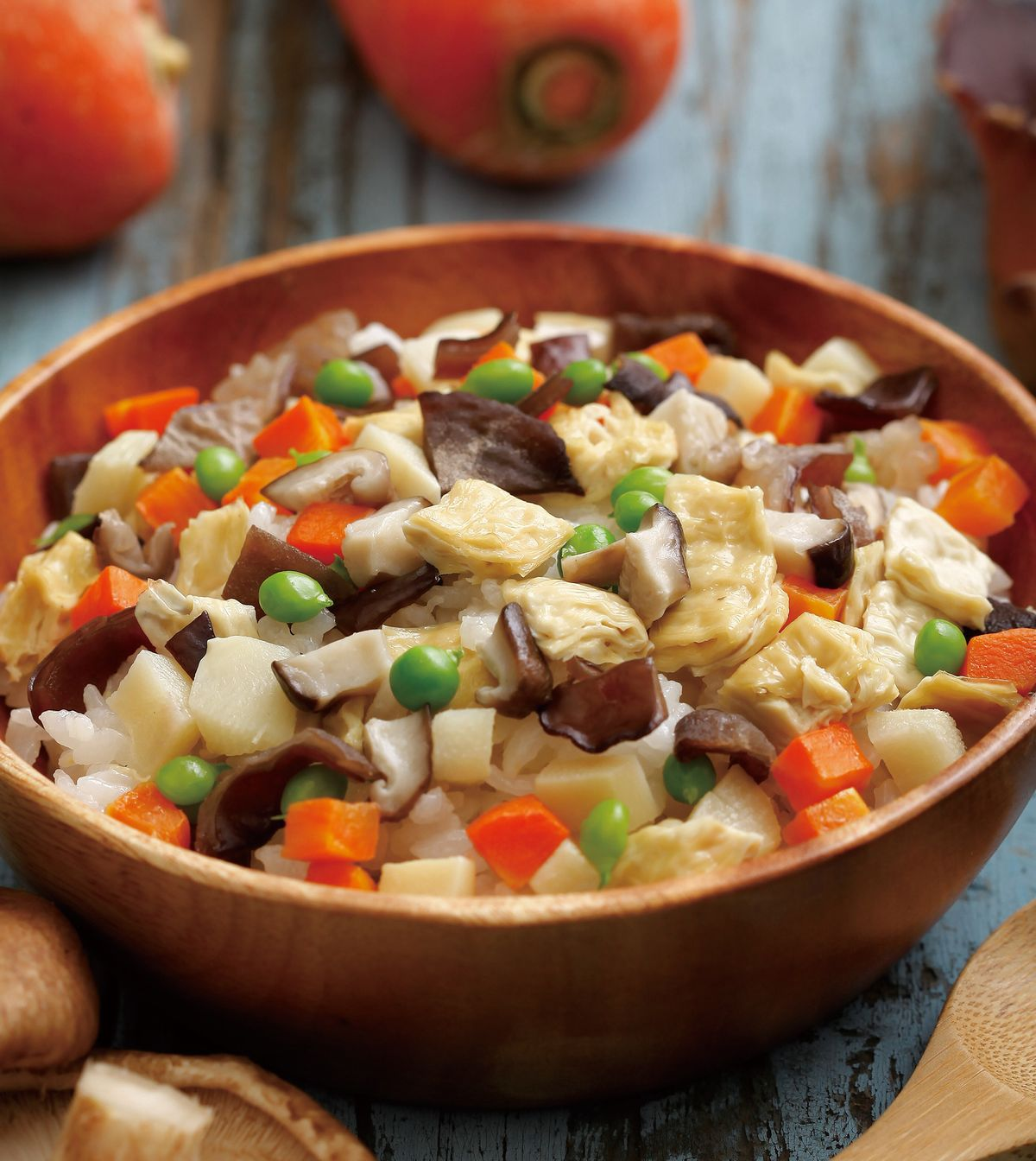 食譜:鮮蔬炊飯