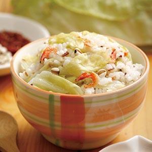 高麗菜飯(3)