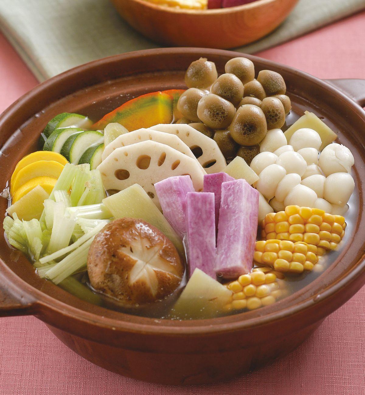 食譜:薑母蔬食鍋