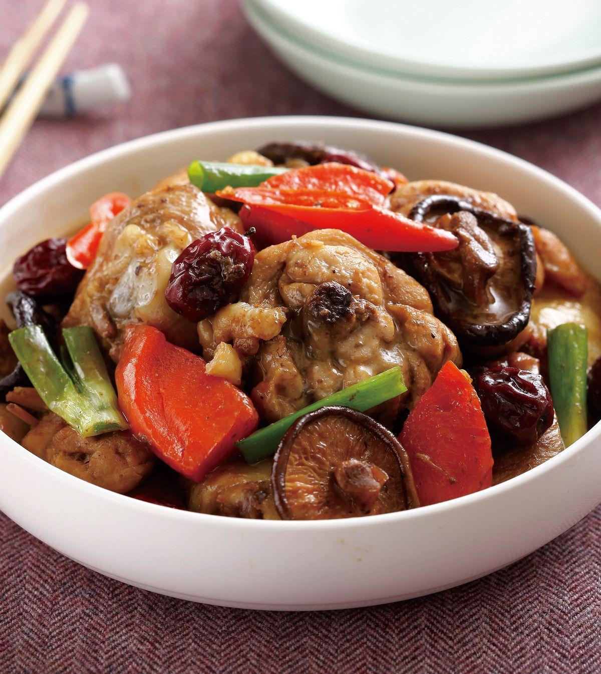 食譜:紅燒香菇雞