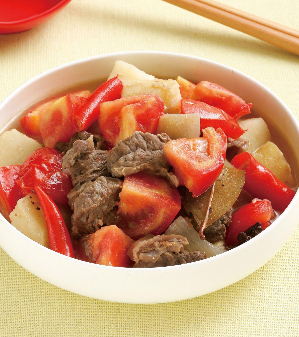 食譜:番茄燉牛腩(1)