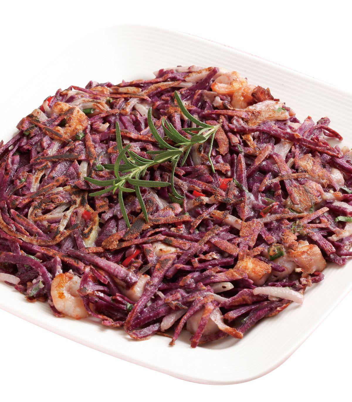 食譜:紅薯海鮮煎餅