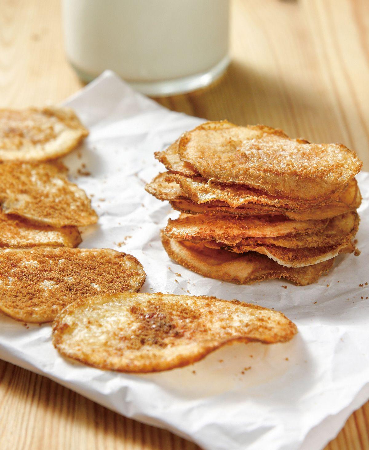 食譜:奶油黑糖薯餅