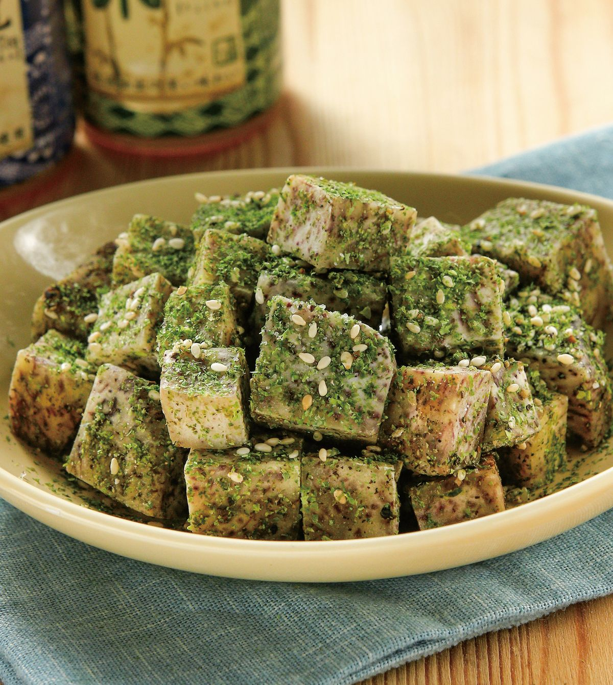 食譜:海苔芋塊