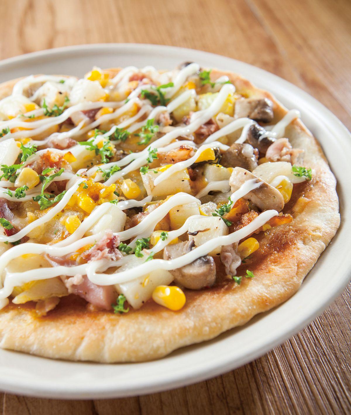食譜:培根馬鈴薯披薩