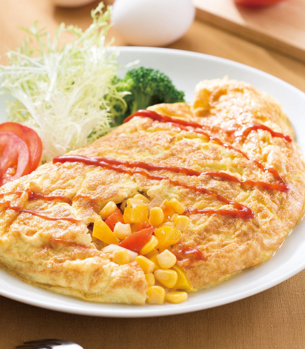 食譜:起司歐姆蛋(1)