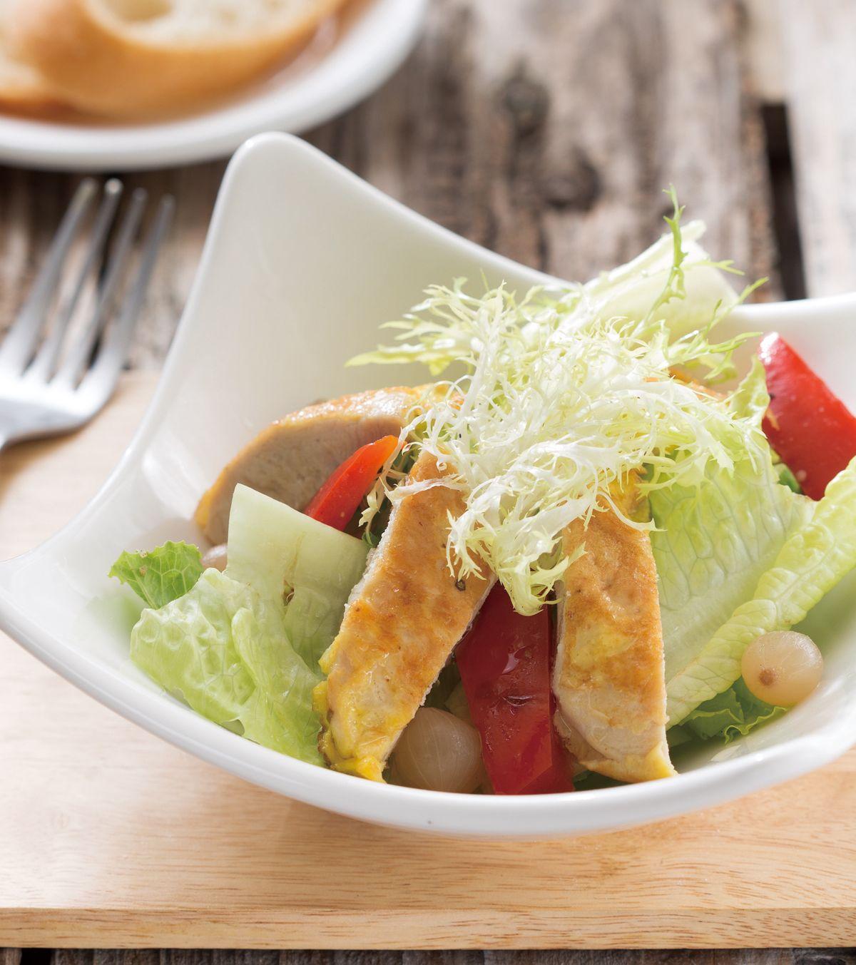 食譜:麥年雞柳沙拉