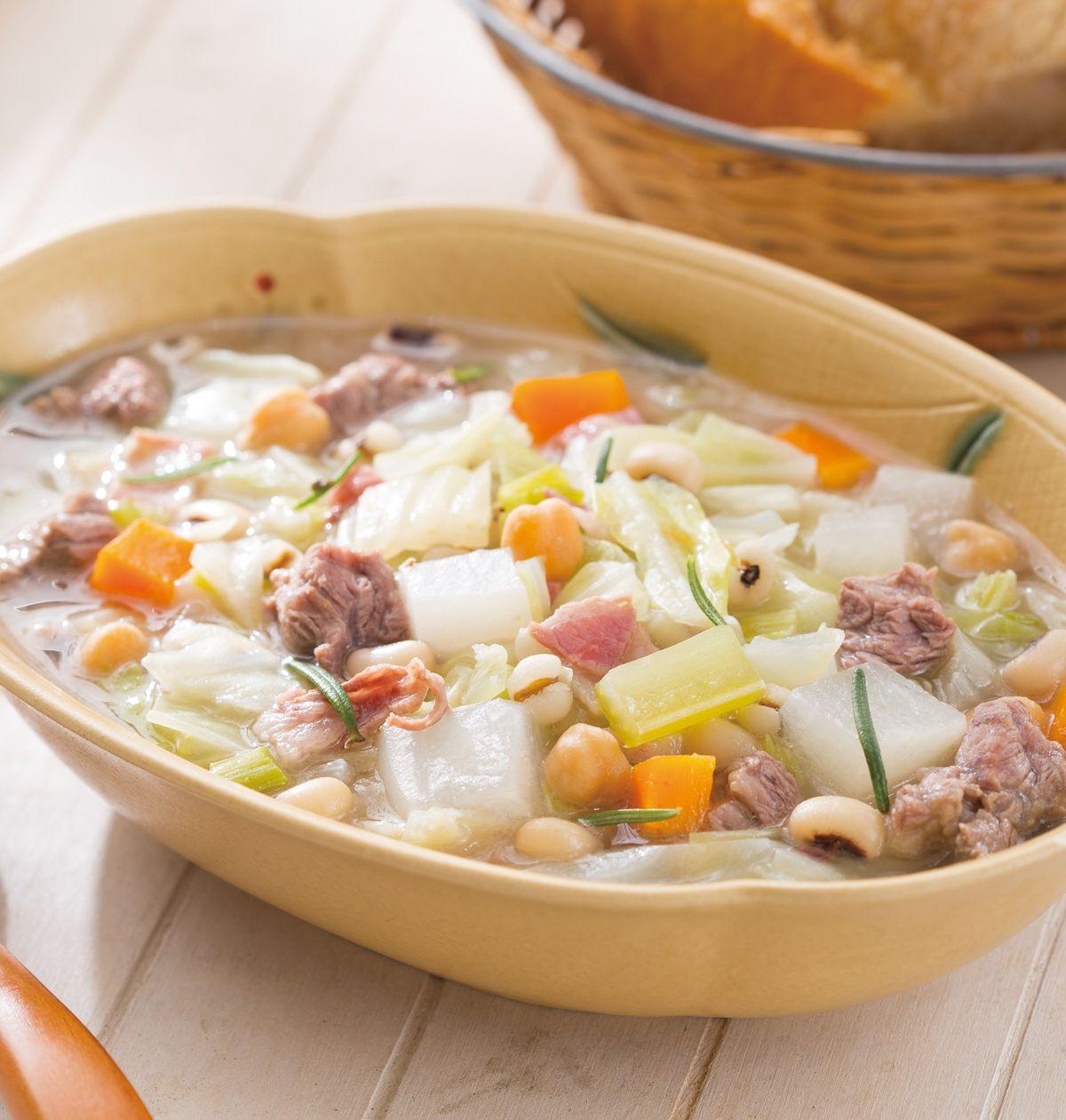 食譜:鳳眼豆燉羊肉湯