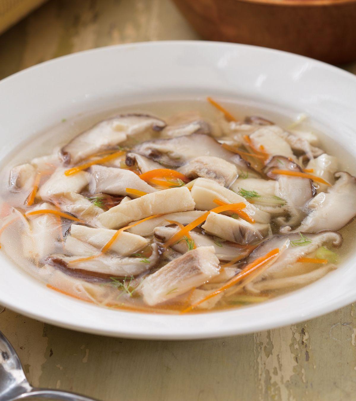 食譜:海鮮清湯(1)