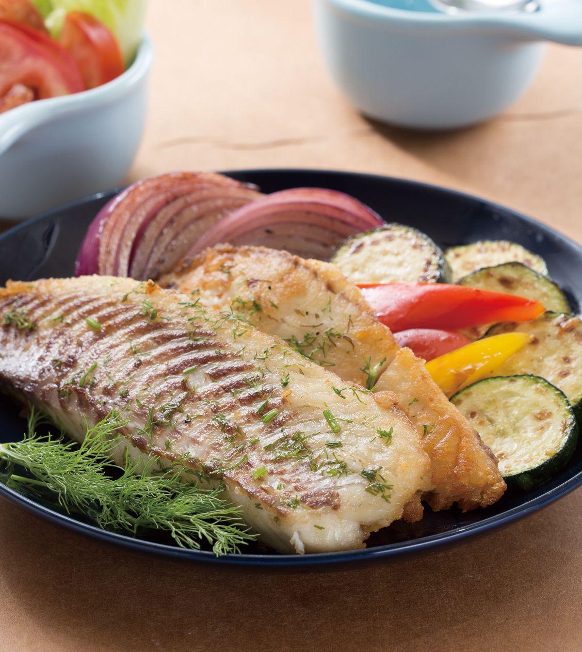 食譜:百里香烤魚片