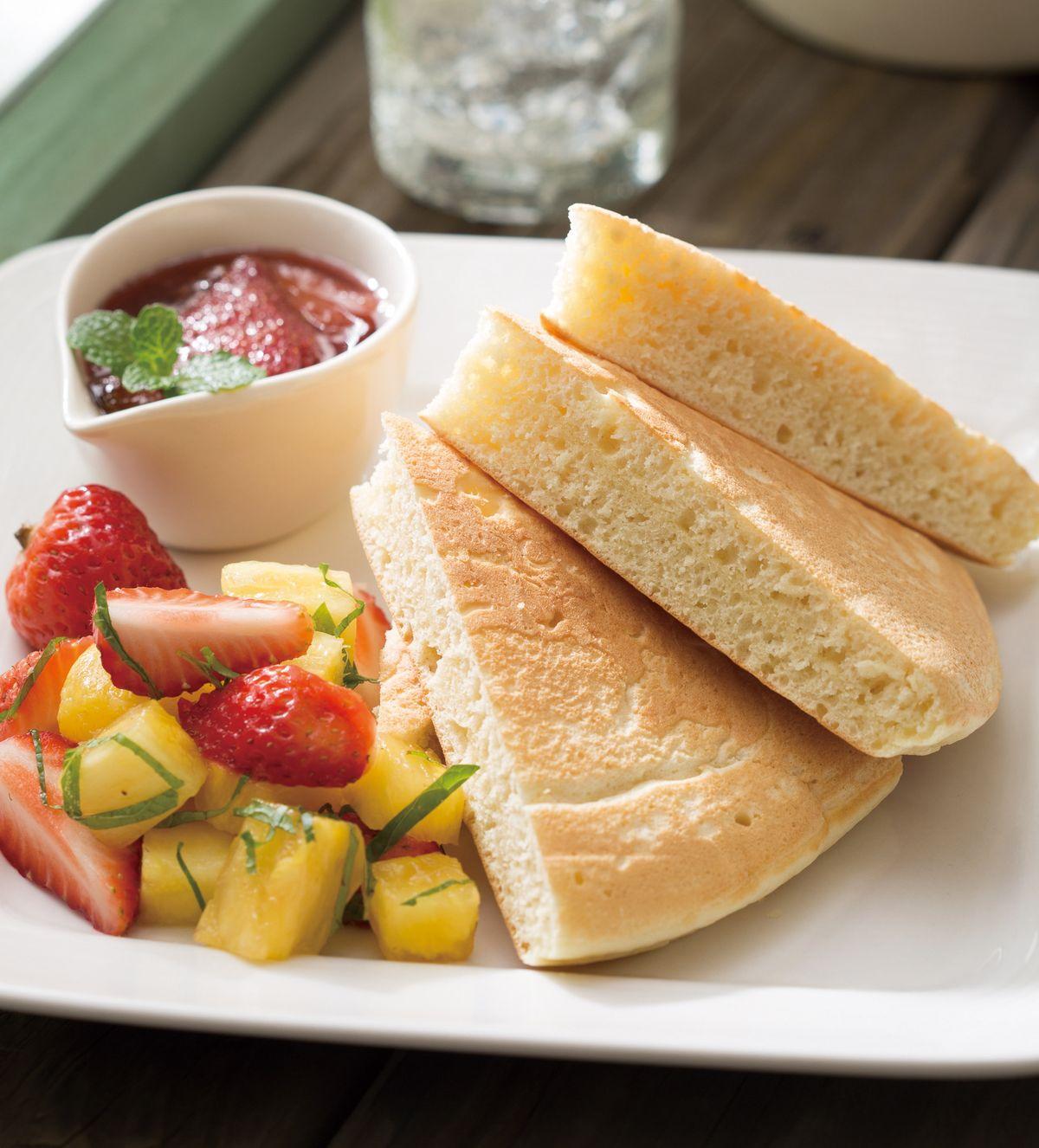 食譜:蜂蜜水果鬆餅(1)