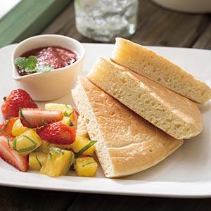 蜂蜜水果鬆餅(1)