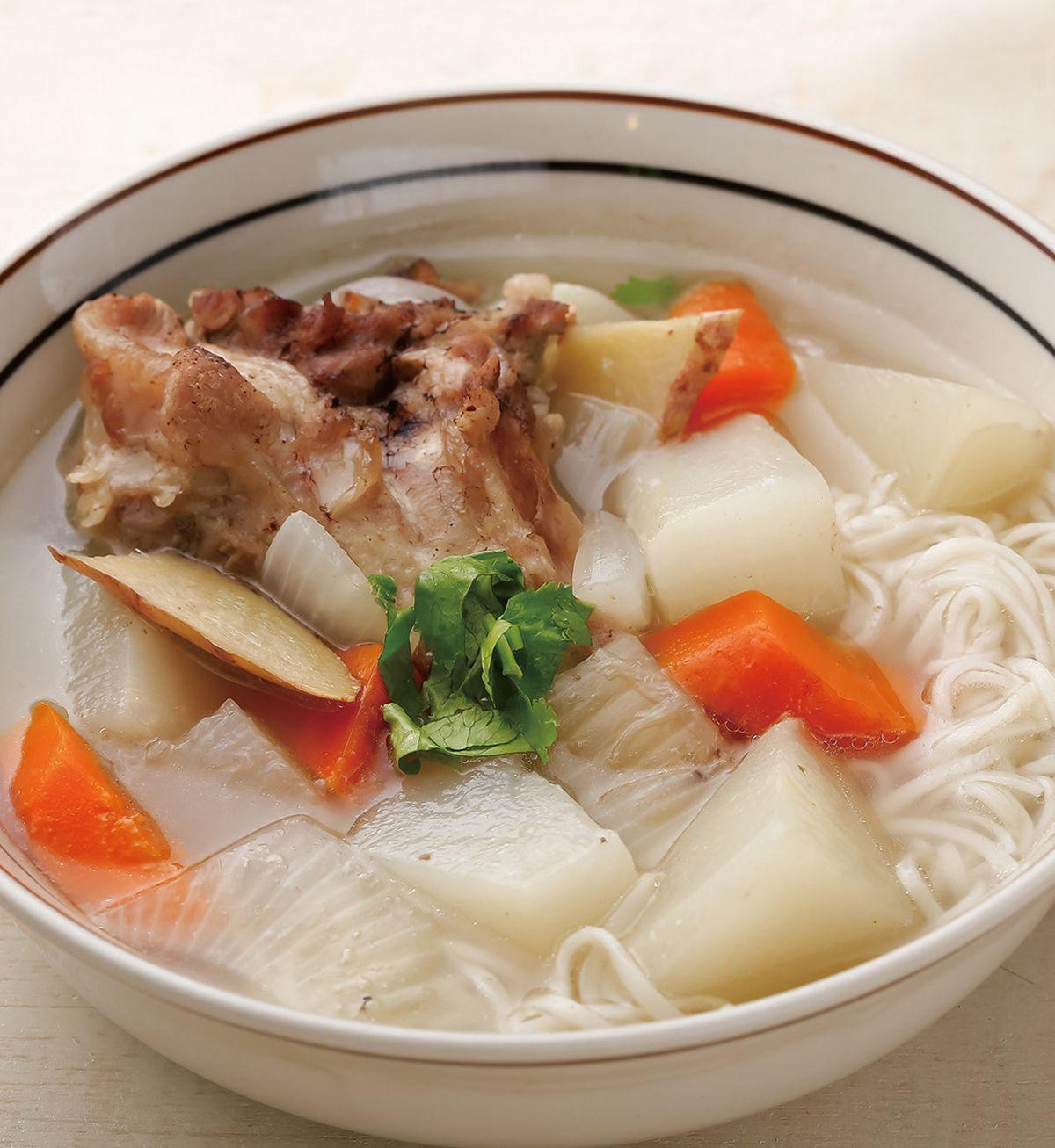 食譜:豚味燉白玉