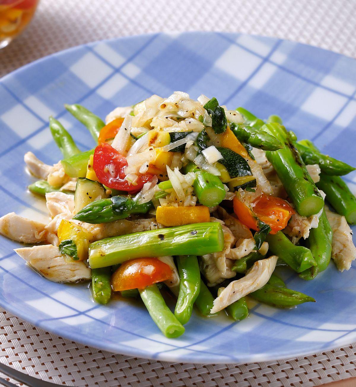食譜:季蔬沙拉