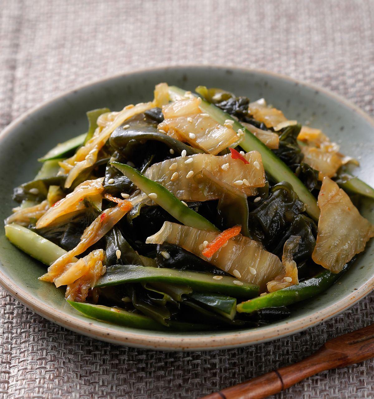 食譜:海帶芽小菜