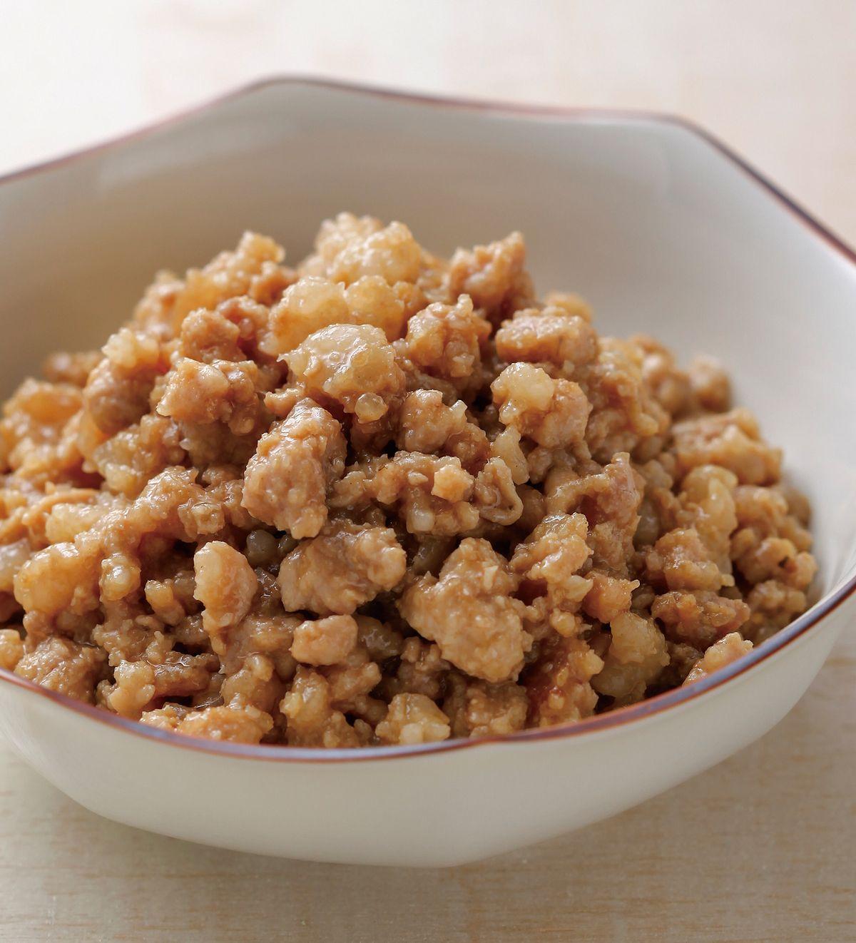 食譜:味噌肉燥(1)