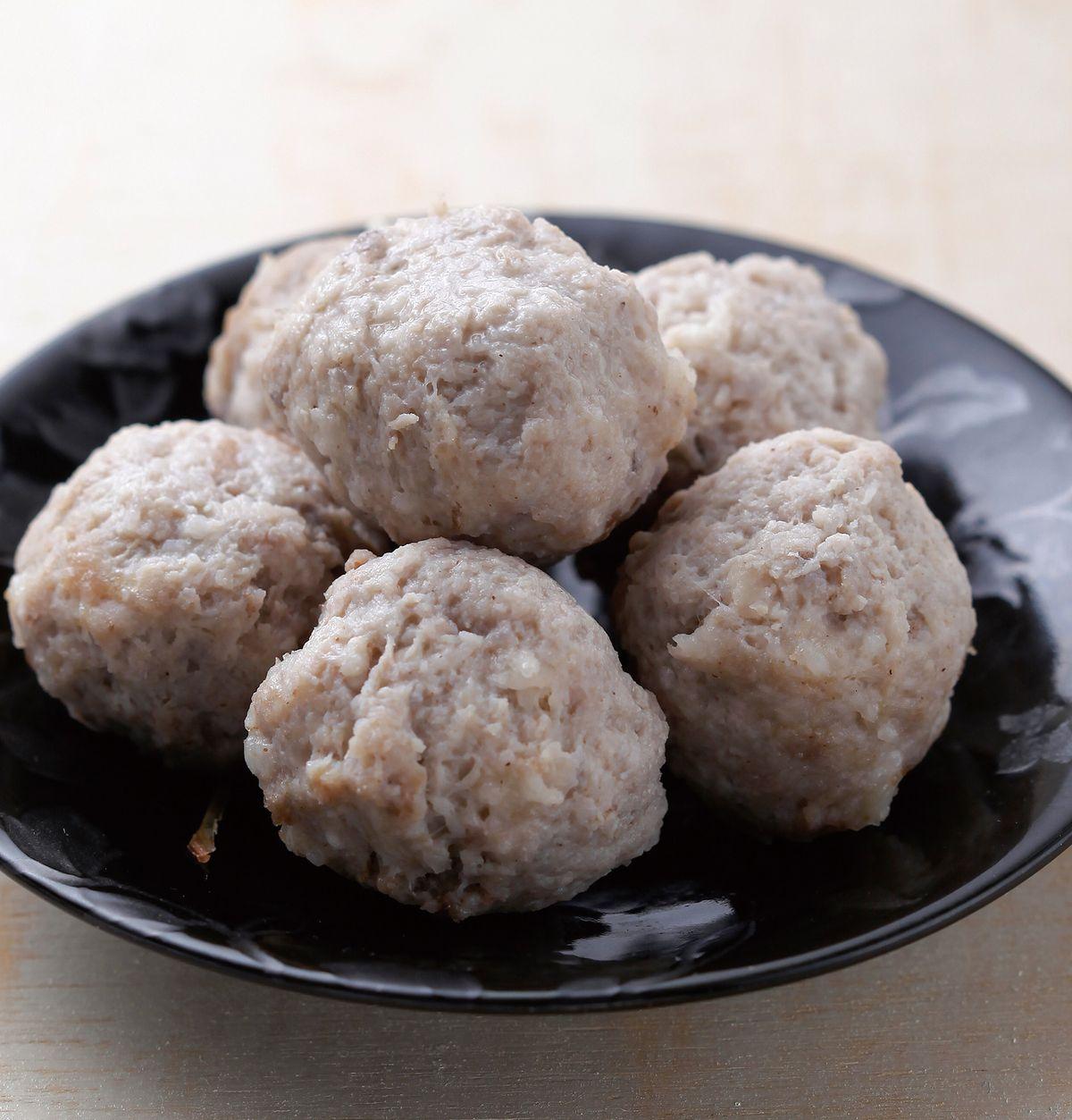 食譜:肉丸子(1)