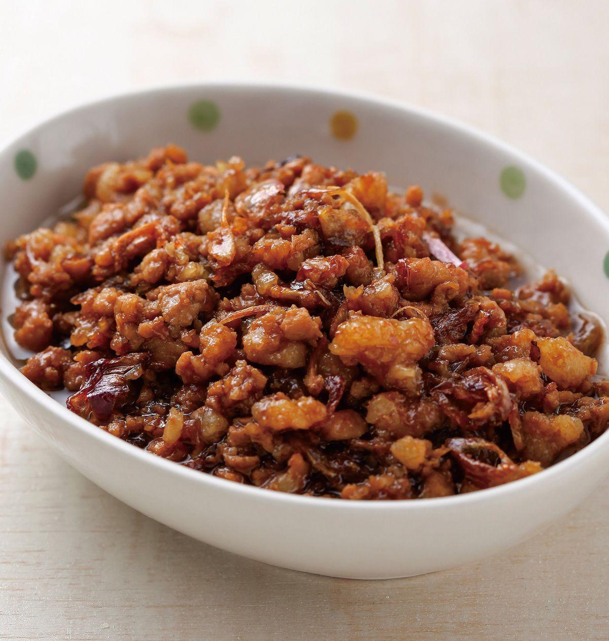 食譜:紅蔥肉燥