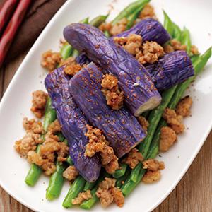 四季紫茄拌肉燥