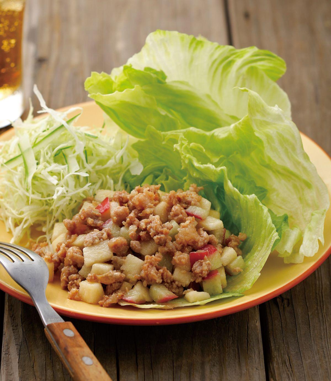 食譜:生菜果香肉鬆