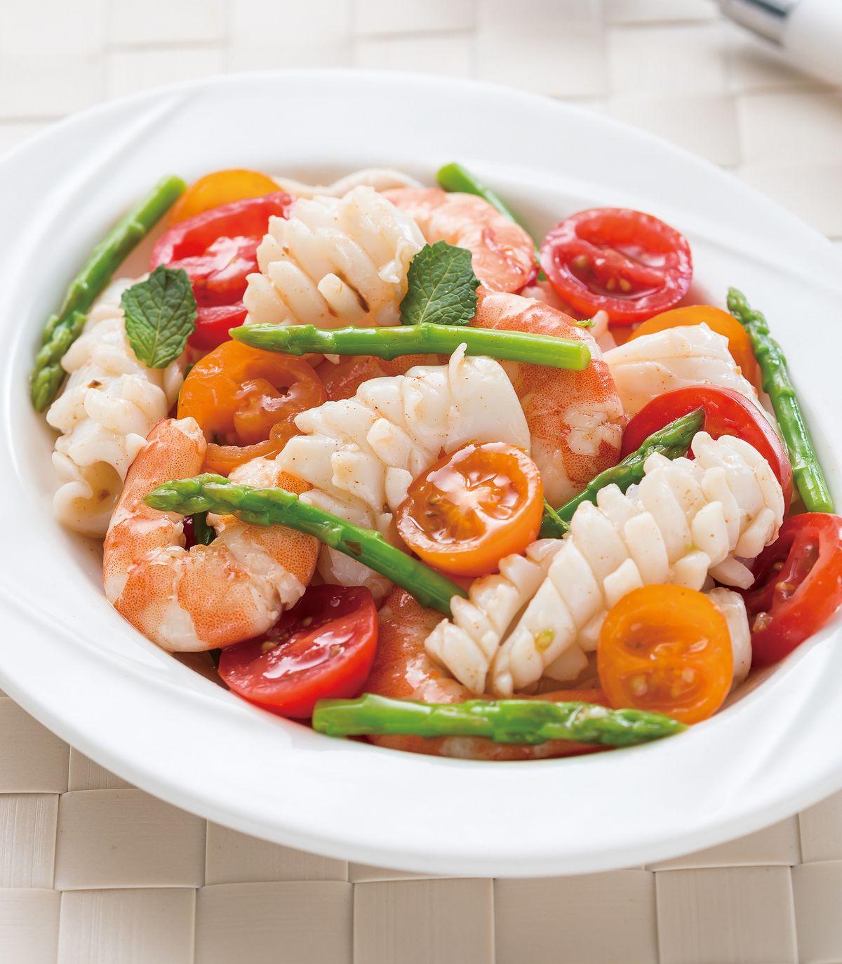 食譜:梅醬拌海鮮