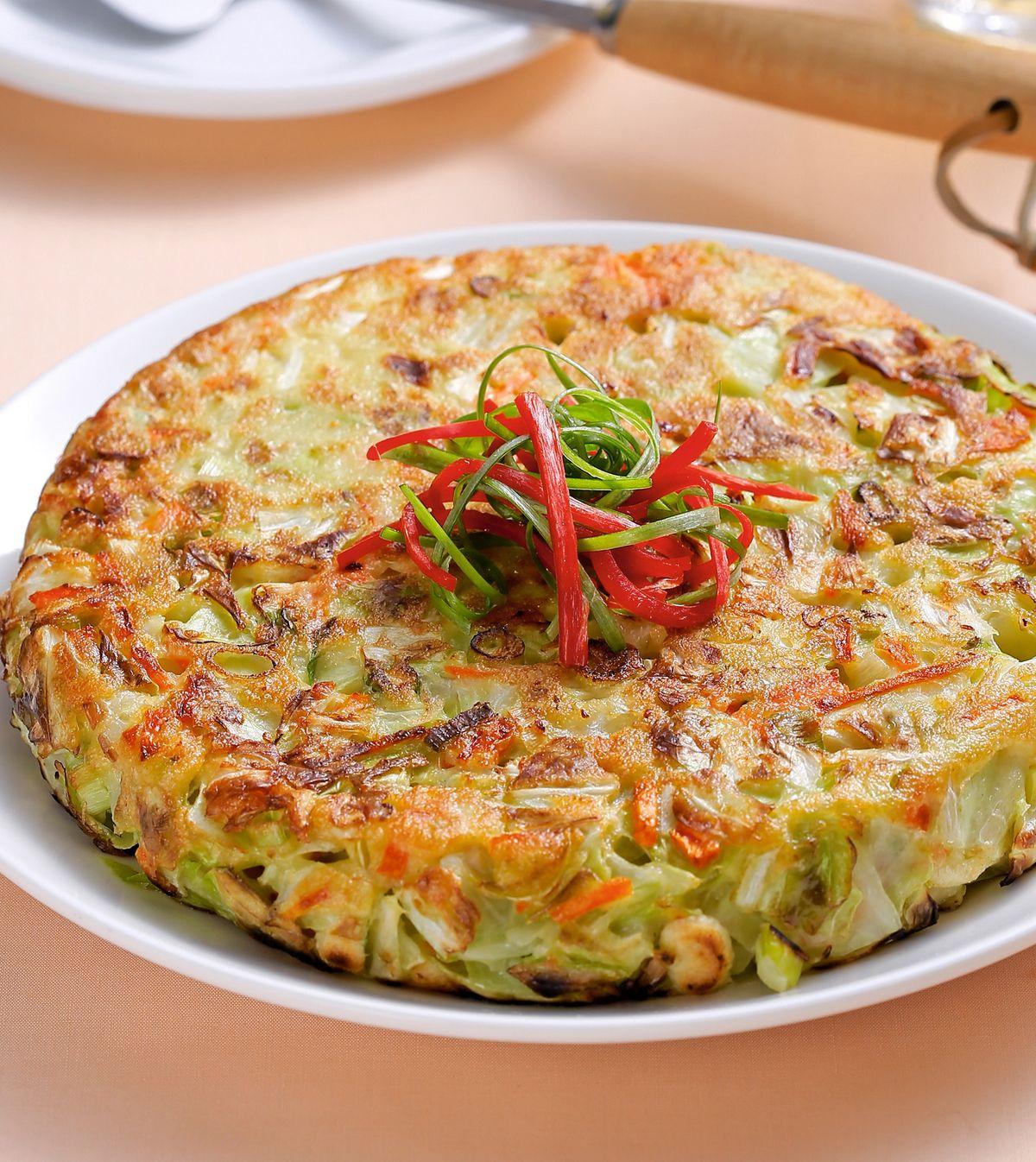 食譜:高麗菜煎餅(1)